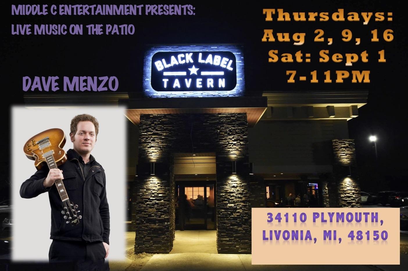 Middle C Ent presents: Thursday Night LIVE! at Black Label Tavern